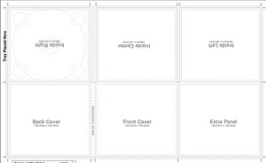 digipack template