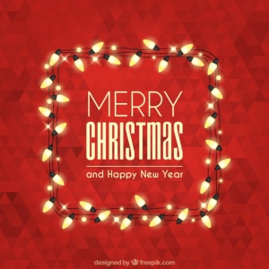merry-christmas-with-polygonal-background-and-lights_23-2147575830